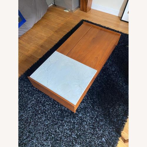 Used West Elm Pop-Up Storage Coffee Table for sale on AptDeco