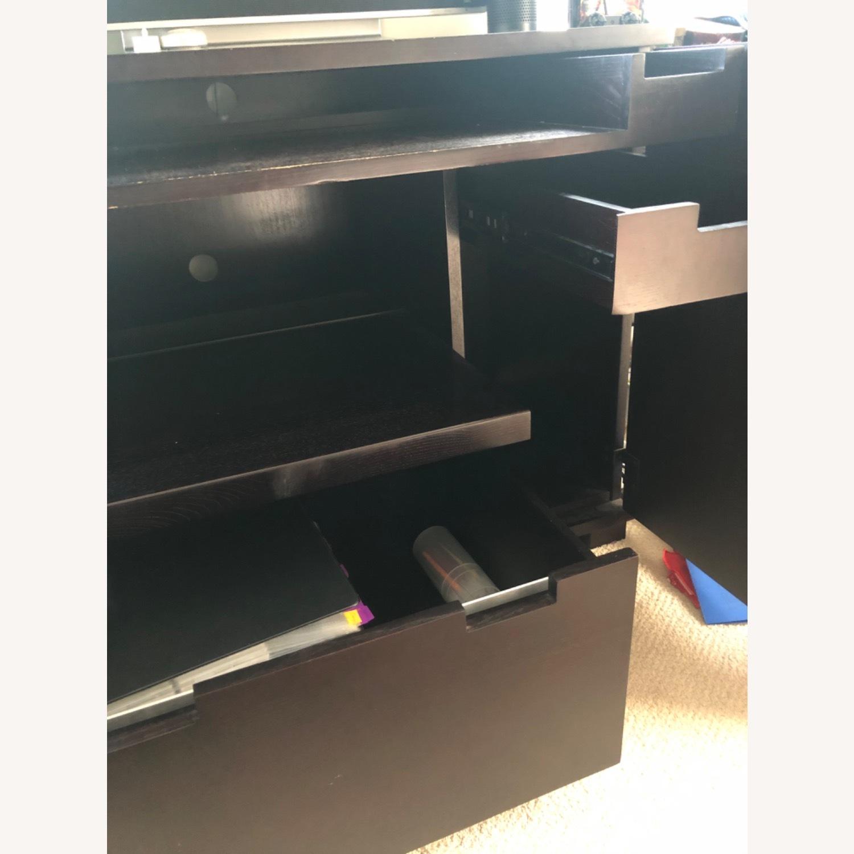 Crate & Barrel Enclosed Desk - image-5