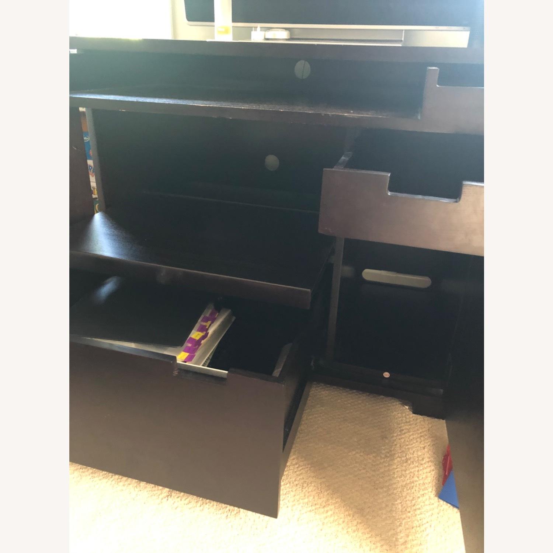 Crate & Barrel Enclosed Desk - image-3