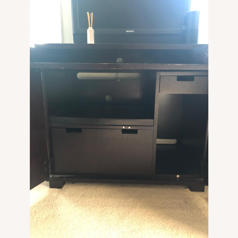 Crate & Barrel Enclosed Desk - image-1