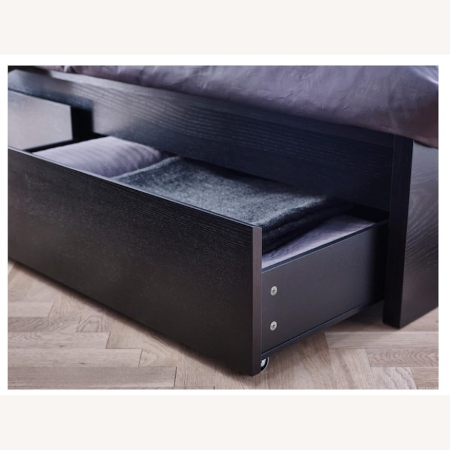 IKEA MALM Under Bed Storage Boxes - image-1