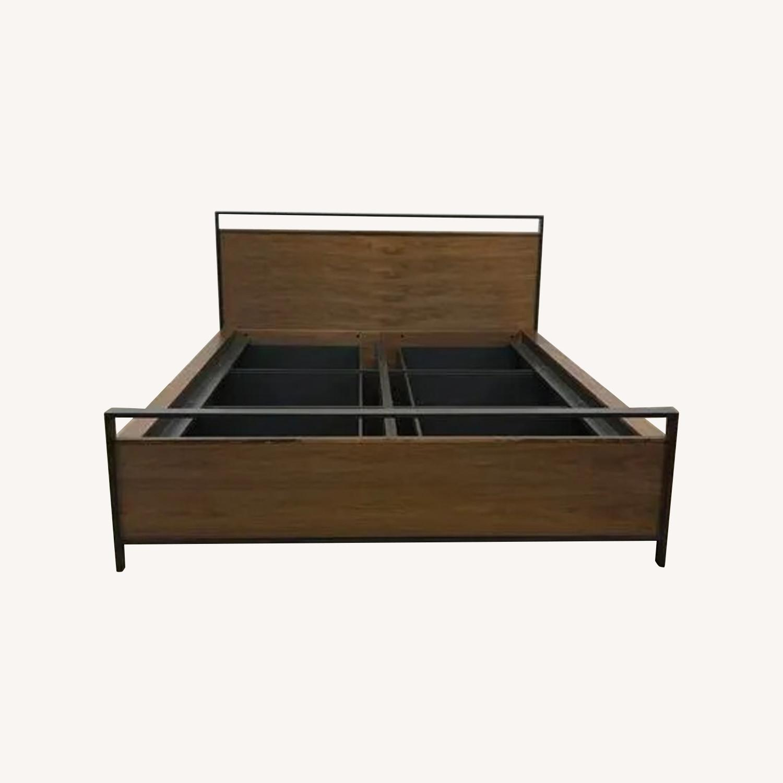 Crate & Barrel Bowery Storage Platform Bed - image-0