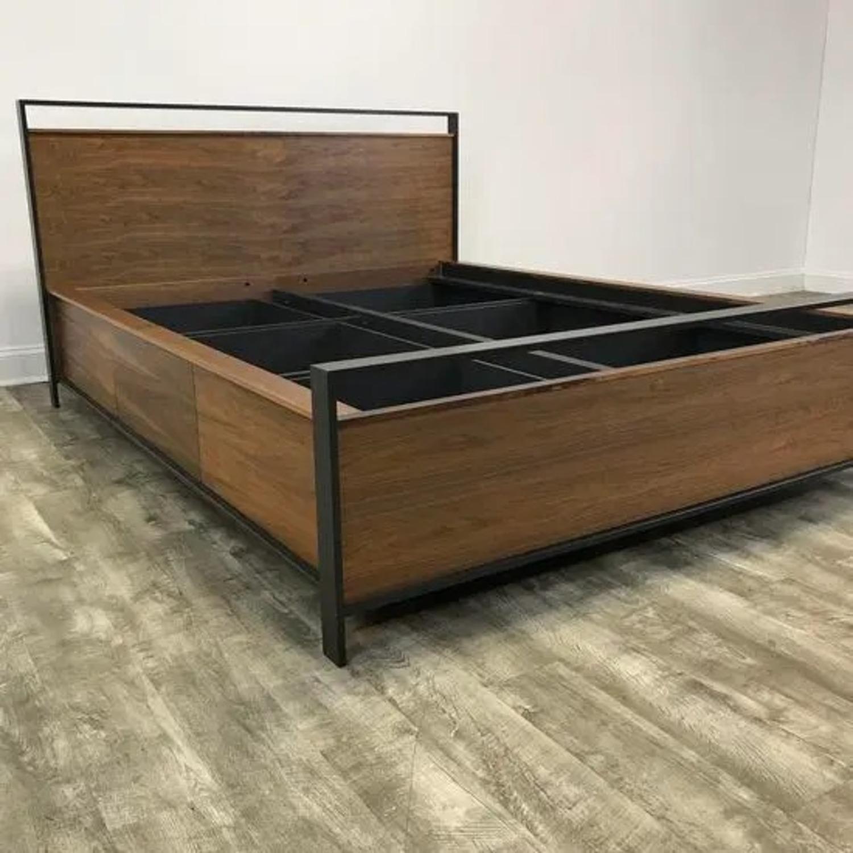 Crate & Barrel Bowery Storage Platform Bed - image-3