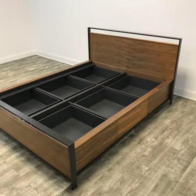 Crate & Barrel Bowery Storage Platform Bed - image-1