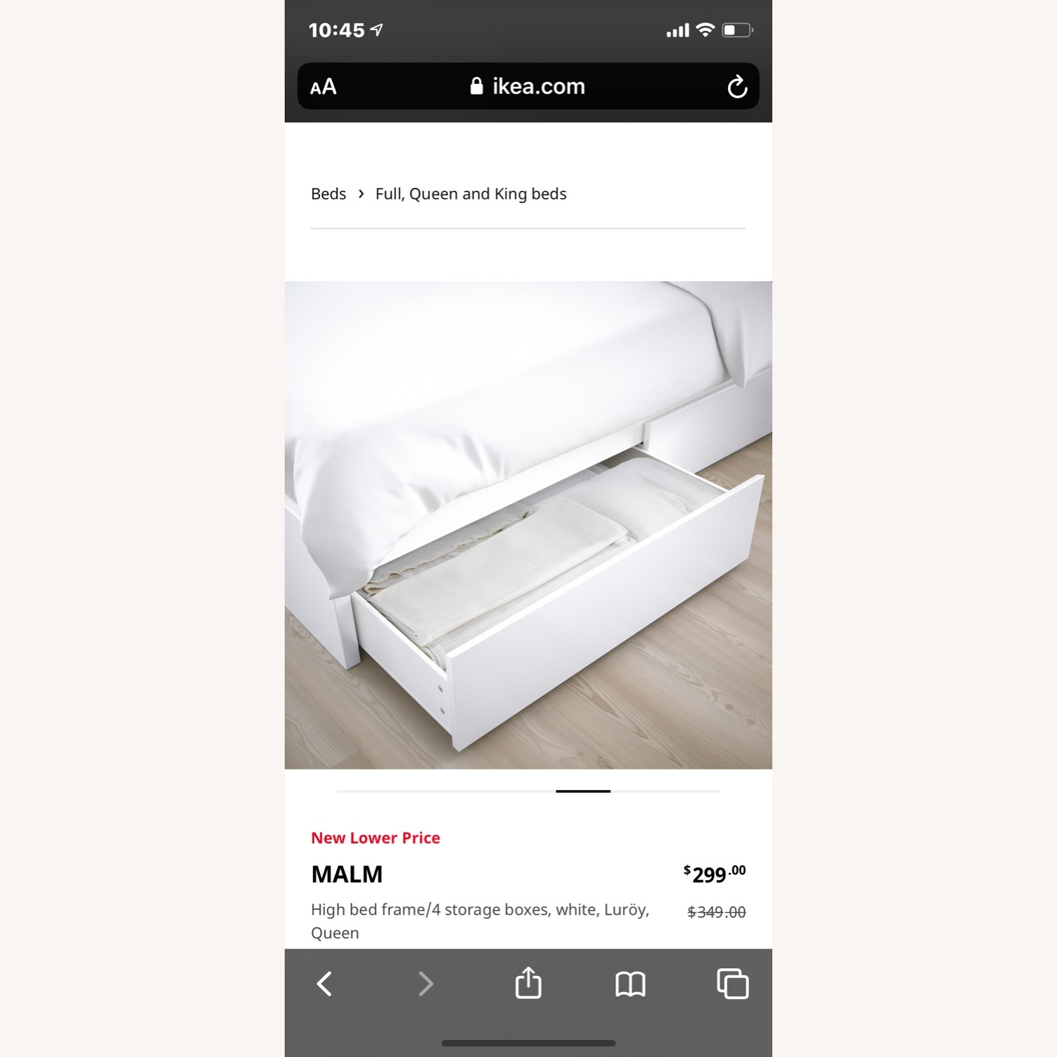 IKEA Malm Queen Bed - image-3