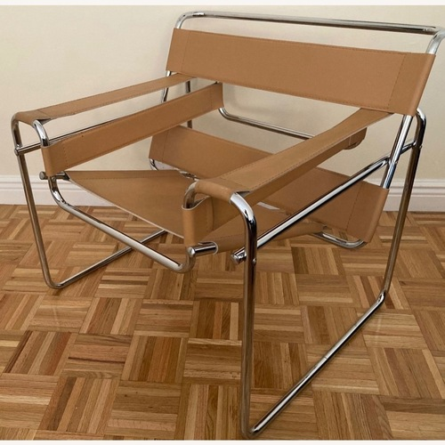 Used Knoll Wassily Style Chair by Marcel Breuer for sale on AptDeco