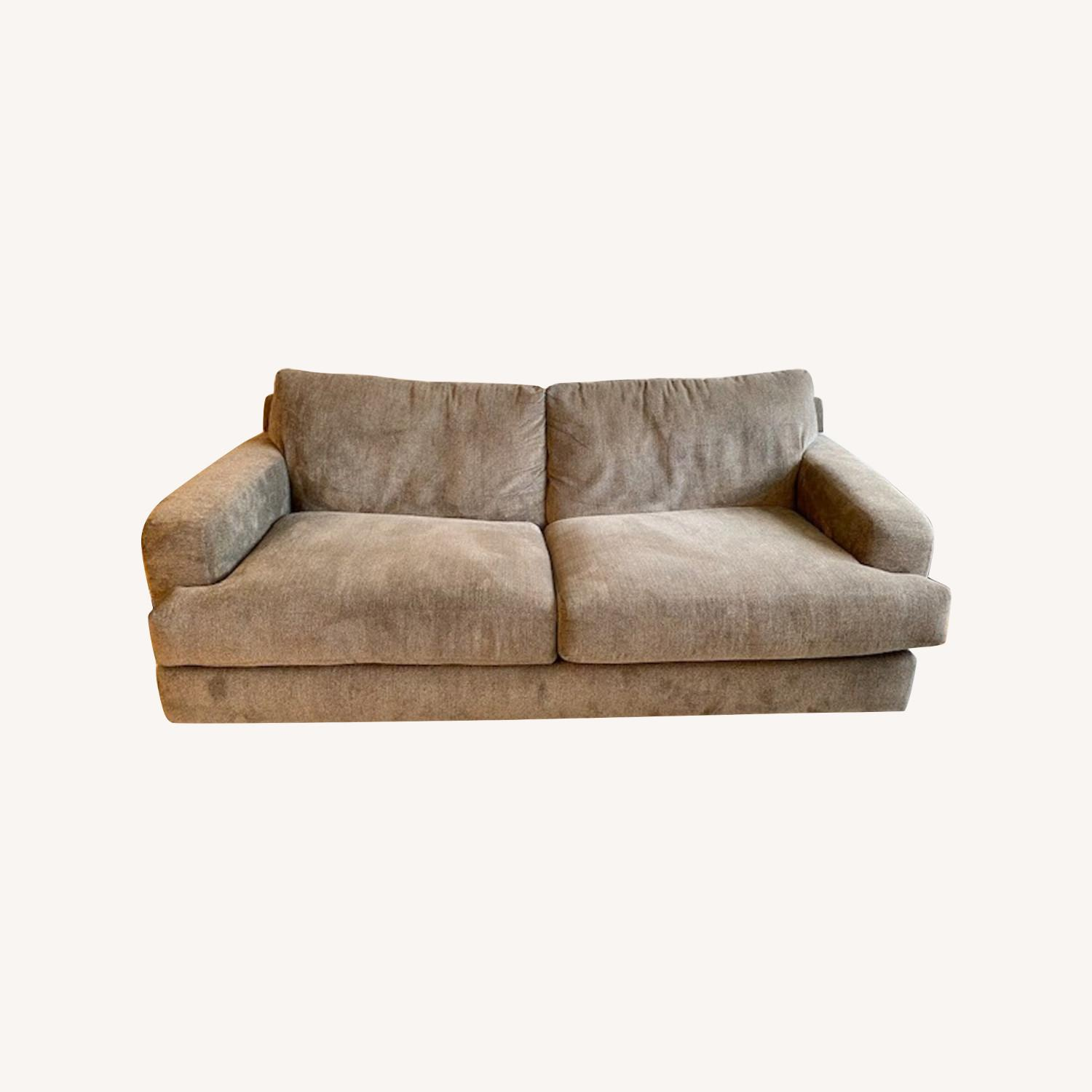 Raymour & Flanigan Grey 2 Seater Sofa - image-0