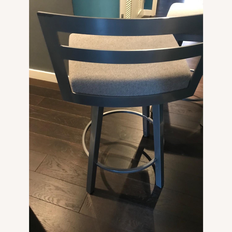 Urban Style Swivel Bar Stool with Cushion - image-3