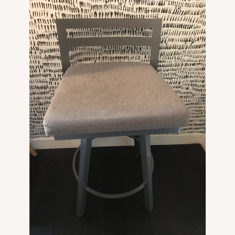 Urban Style Swivel Bar Stool with Cushion - image-4