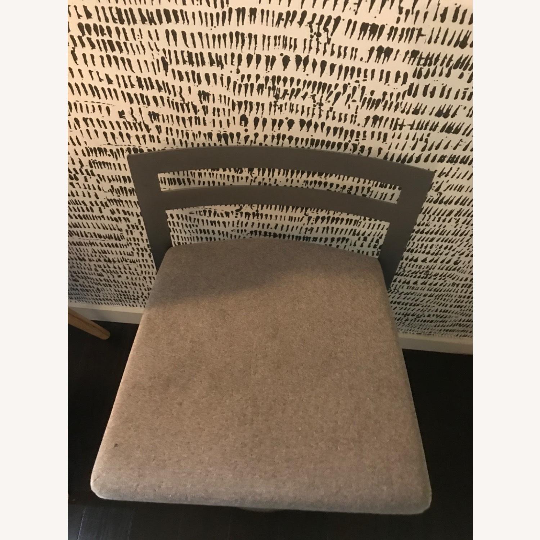 Urban Style Swivel Bar Stool with Cushion - image-5