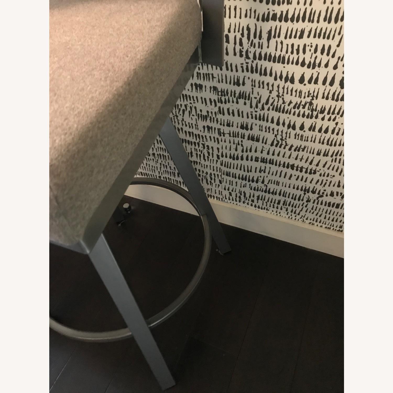 Urban Style Swivel Bar Stool with Cushion - image-6