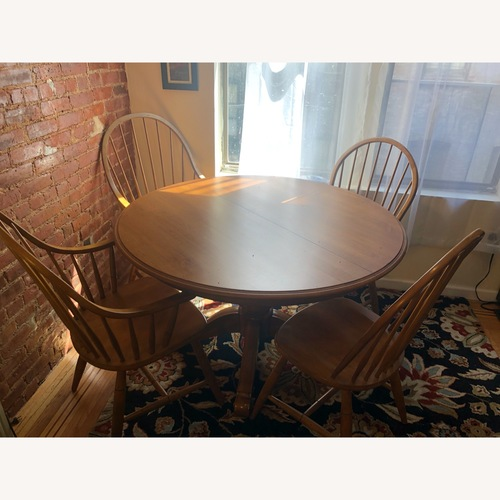 Used Ethan Allen Adam Dining Table for sale on AptDeco