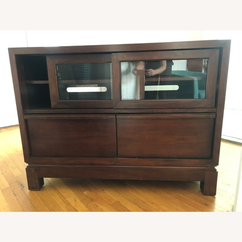 Used Legacy Classic Furniture Media Stand for sale on AptDeco