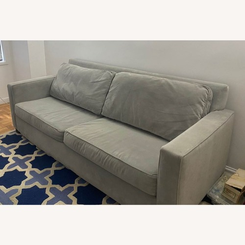 Used West Elm Dove Gray Henry Sofa for sale on AptDeco