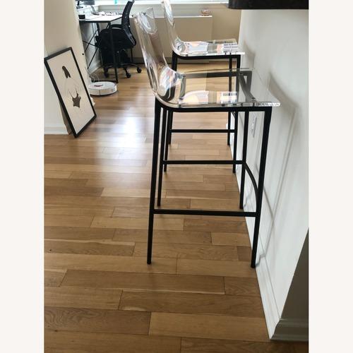 Used CB2 Acrylic Bar Stools for sale on AptDeco
