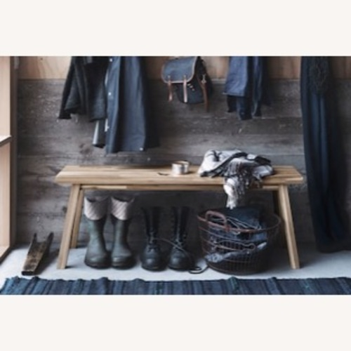 Used IKEA Skogsta Bench for sale on AptDeco