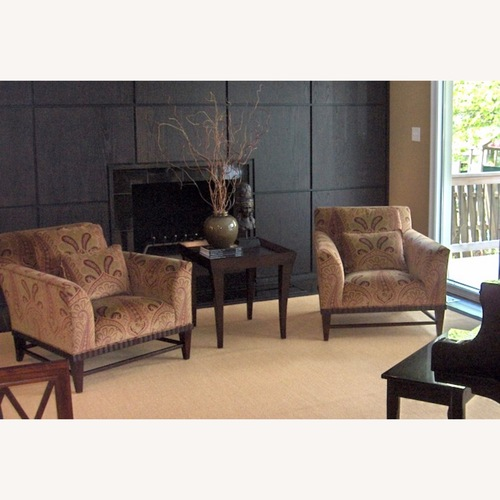 Used Baker Furniture Barbara Barry Club Chair (Set of 2) for sale on AptDeco