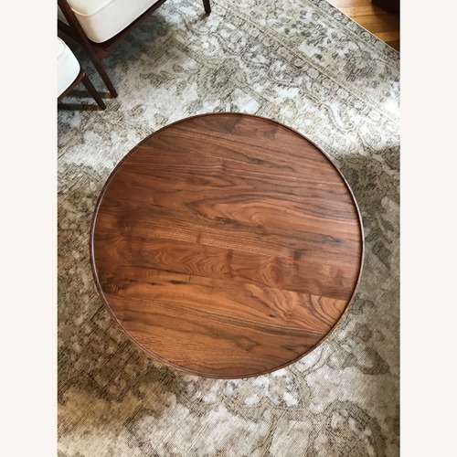 Used Design Within Reach Circular Coffee Table for sale on AptDeco