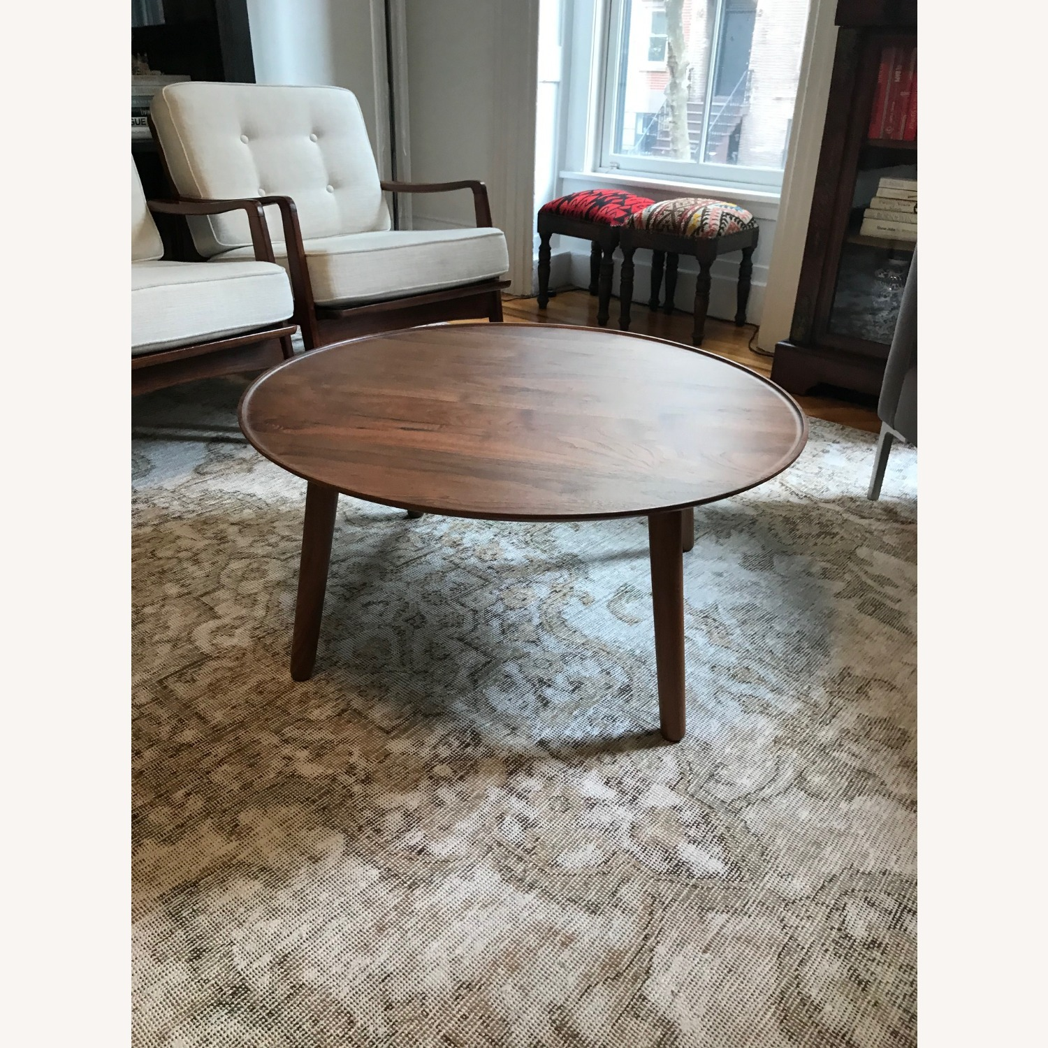 Design Within Reach Circular Coffee Table - image-1