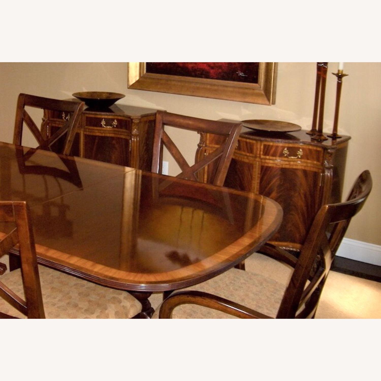 Maitland Smith Flame Mahogany Serpentine Cabinets - image-1