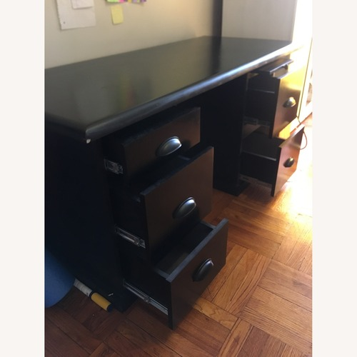 Used 3 Piece Solid Wood Desk for sale on AptDeco