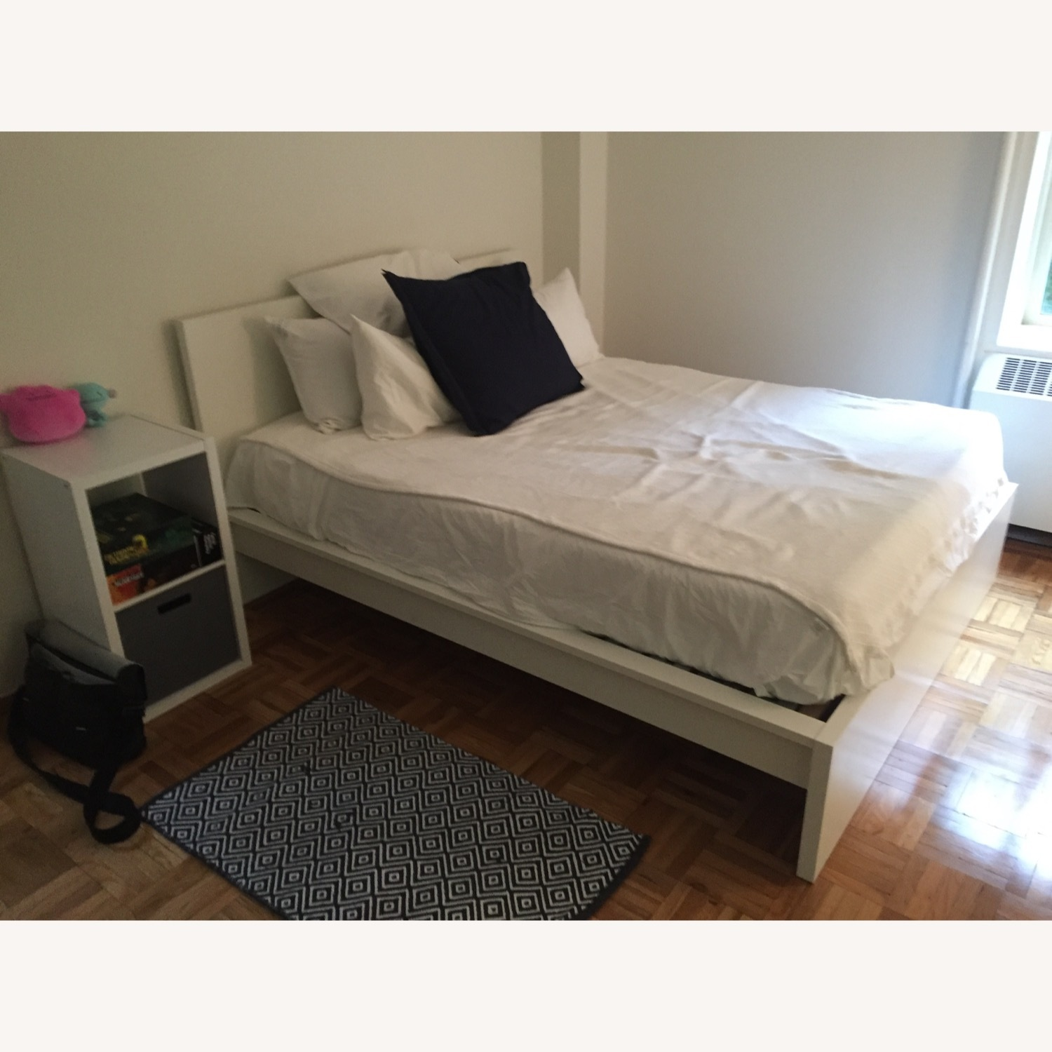 IKEA Malm White Queen Bed - image-3