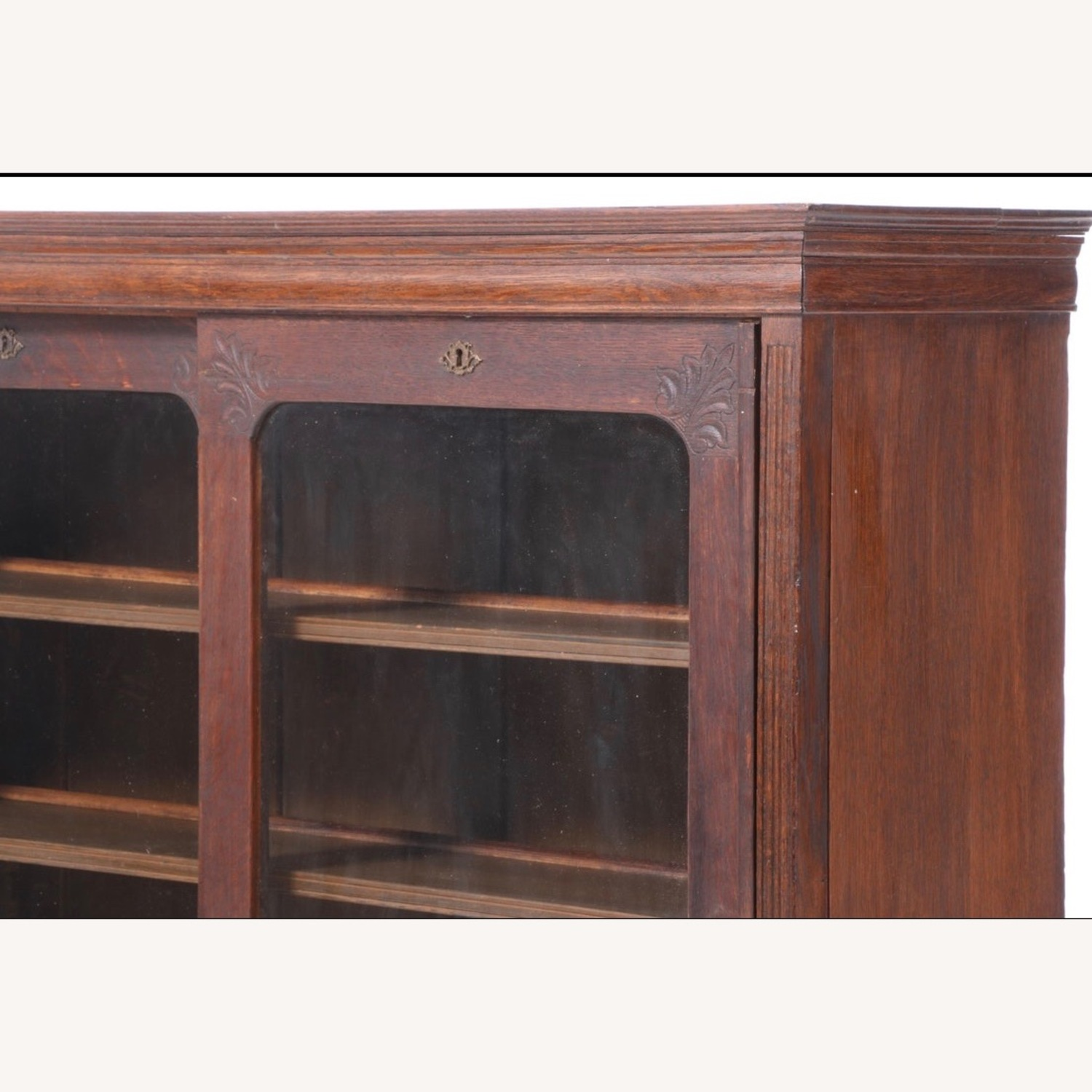 Oak Bookcase Cabinet, Early 20th Century - image-3