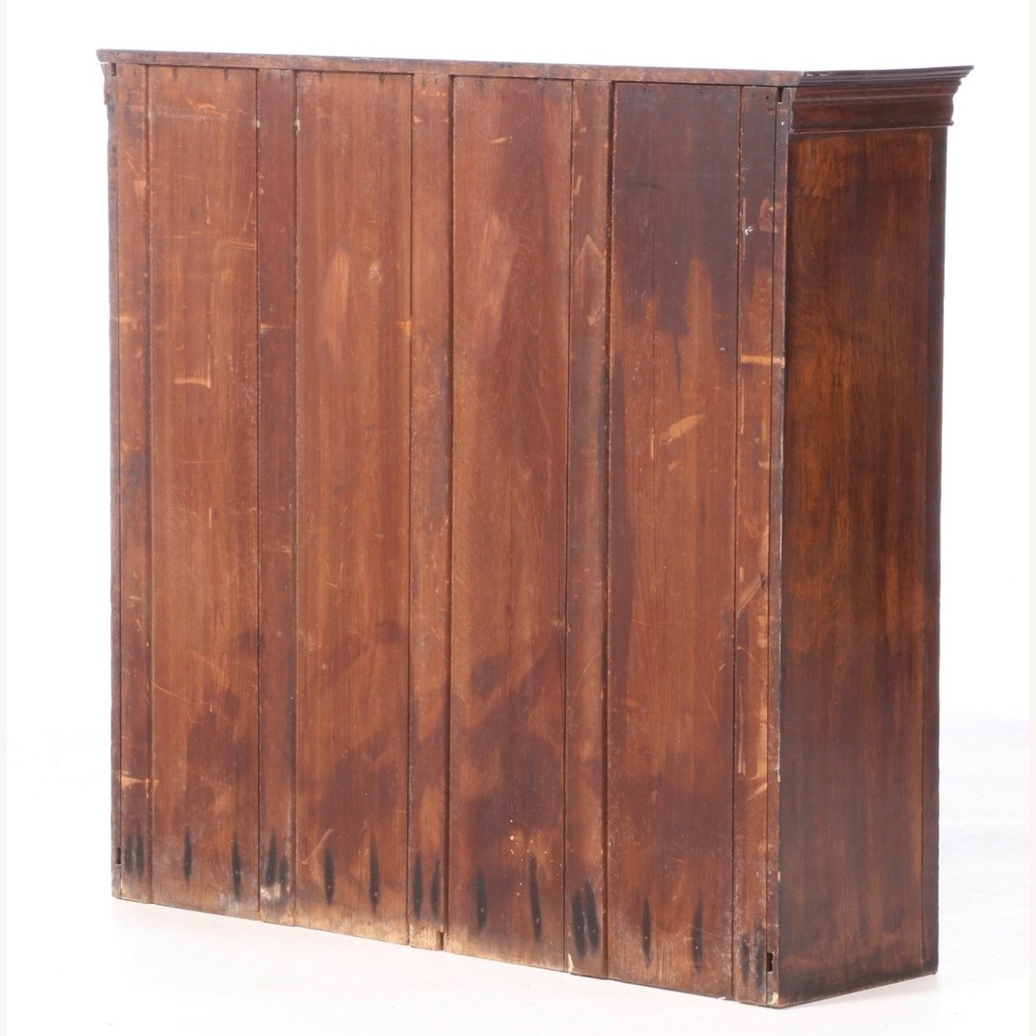 Oak Bookcase Cabinet, Early 20th Century - image-8