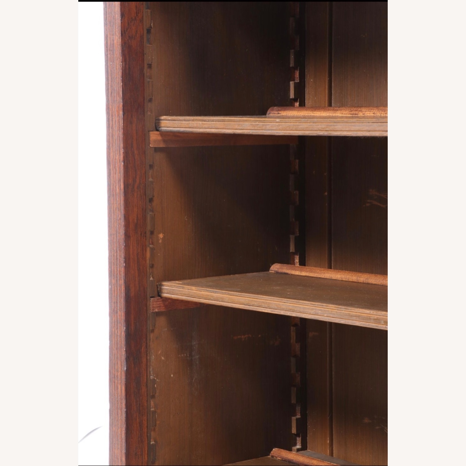 Oak Bookcase Cabinet, Early 20th Century - image-5