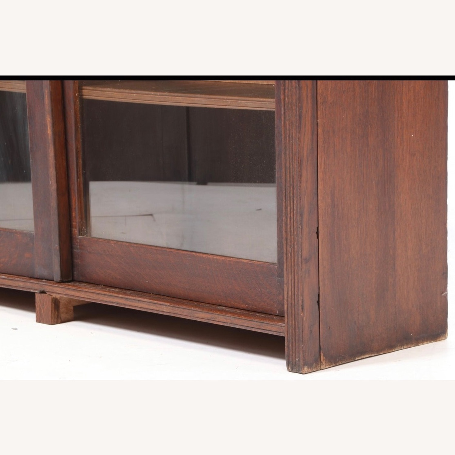 Oak Bookcase Cabinet, Early 20th Century - image-6