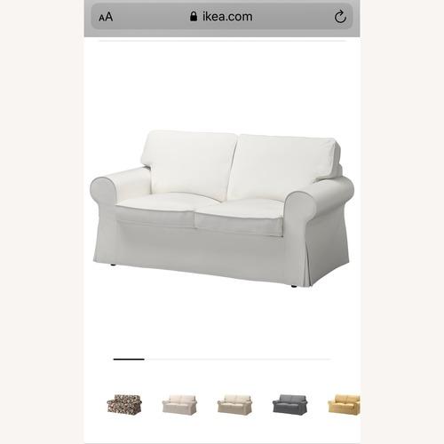 Used IKEA Ektorp Loveseat for sale on AptDeco