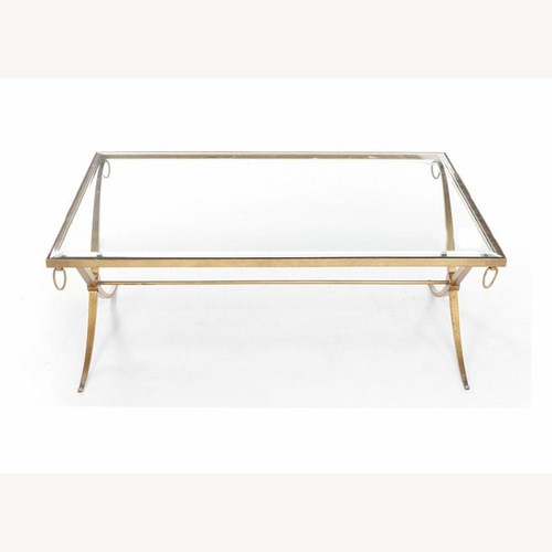 Used Barbara Barry/ Baker Regency X Cocktail Table for sale on AptDeco