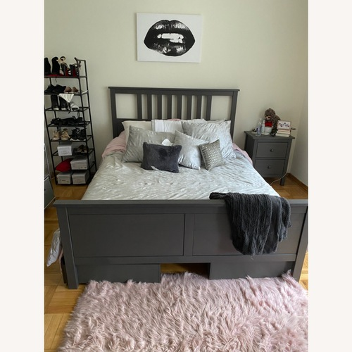Used IKEA Queen Storage Bed for sale on AptDeco