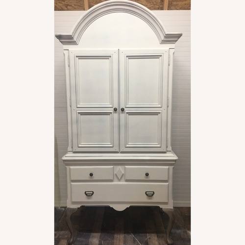 Used Alexander Julian Entertainment Armoire for sale on AptDeco
