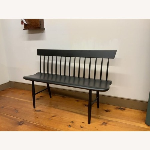 Used Shaker Spindle Back Settee for sale on AptDeco