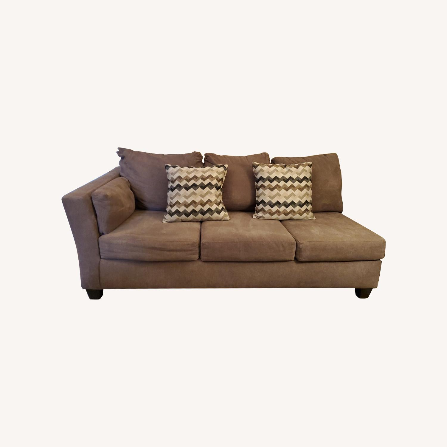 Bob's Discount 2 Piece Sectional - image-0