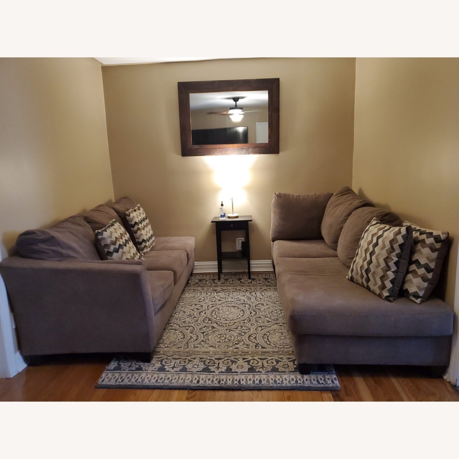 Bob's Discount 2 Piece Sectional - image-1