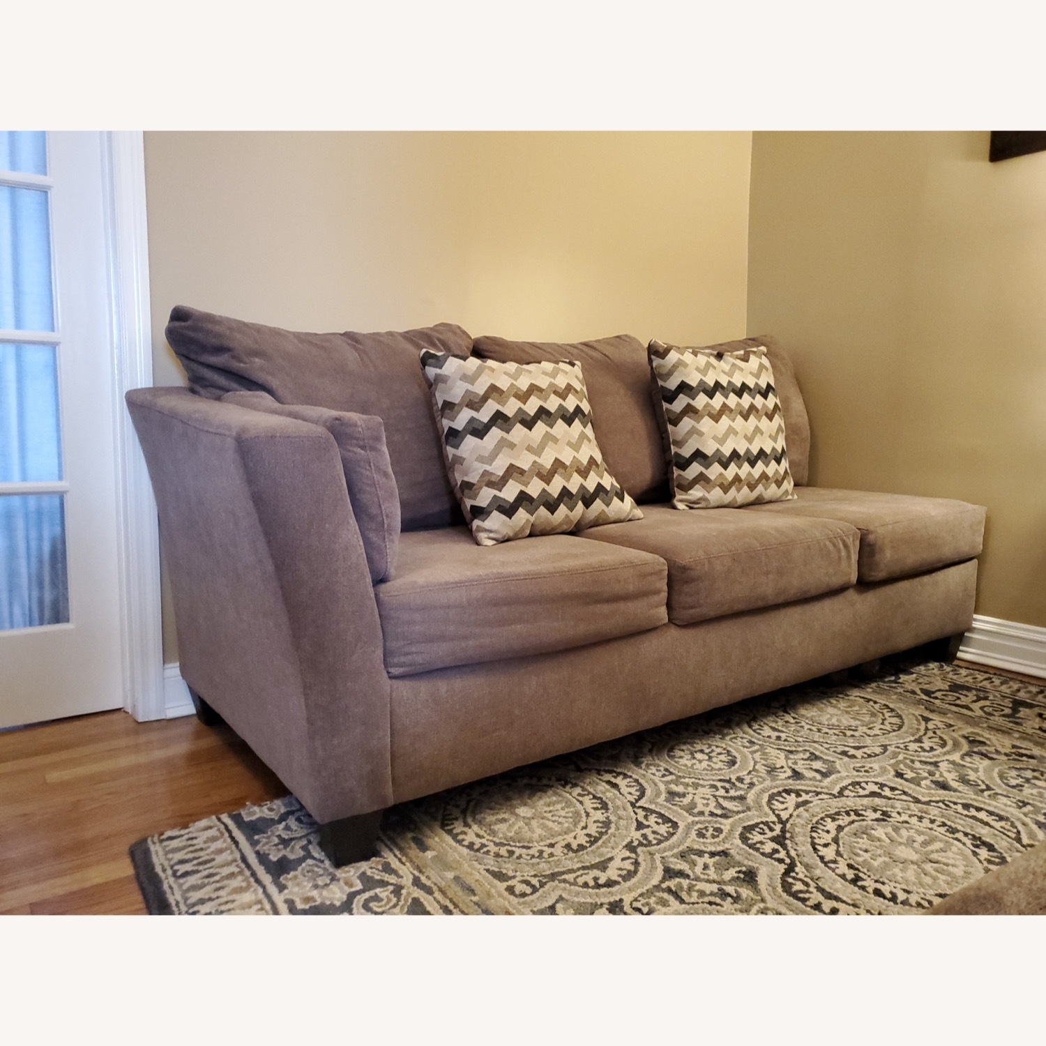 Bob's Discount 2 Piece Sectional - image-3