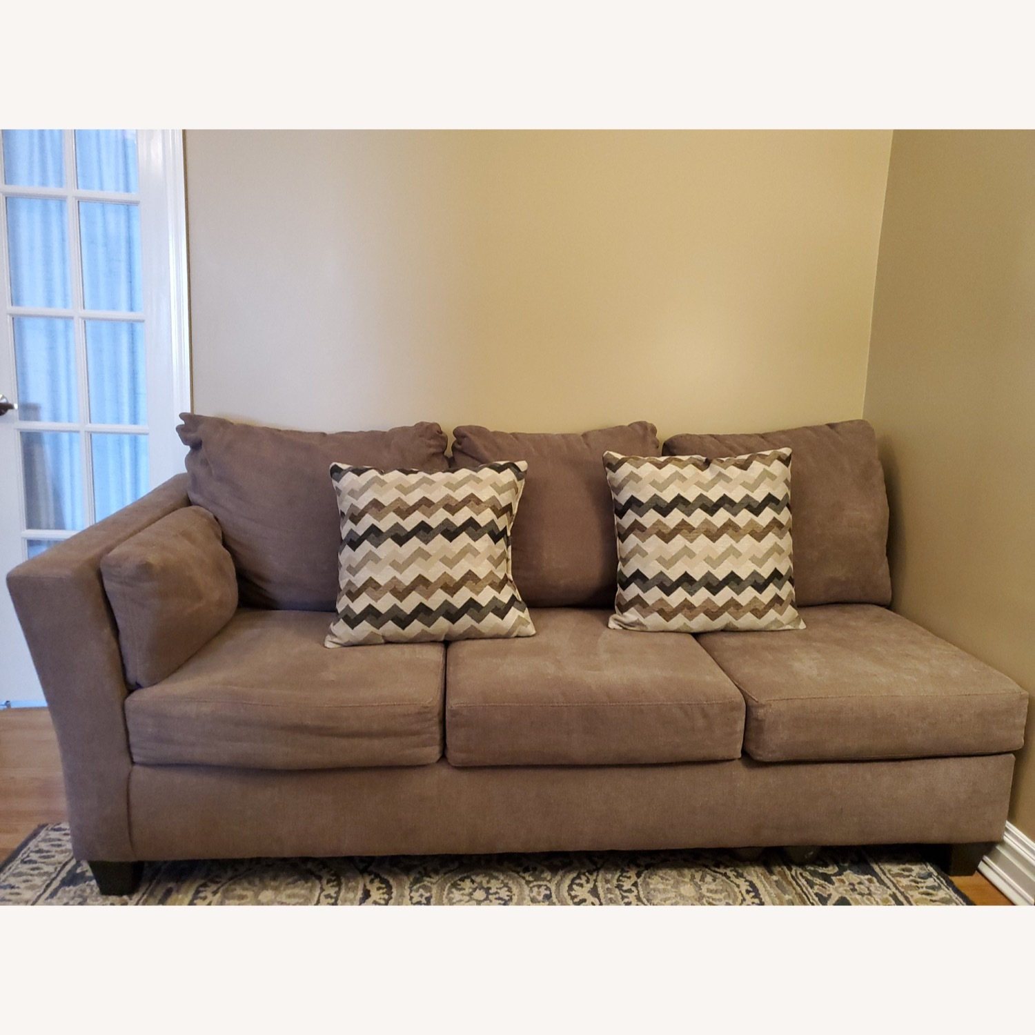 Bob's Discount 2 Piece Sectional - image-2