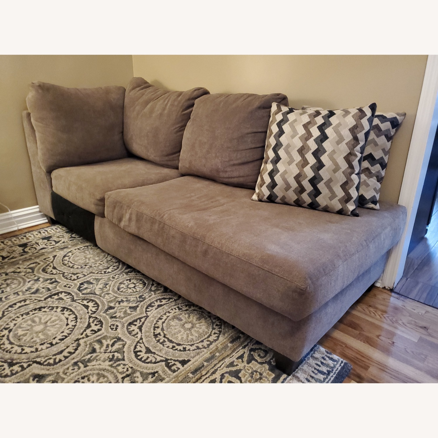 Bob's Discount 2 Piece Sectional - image-5