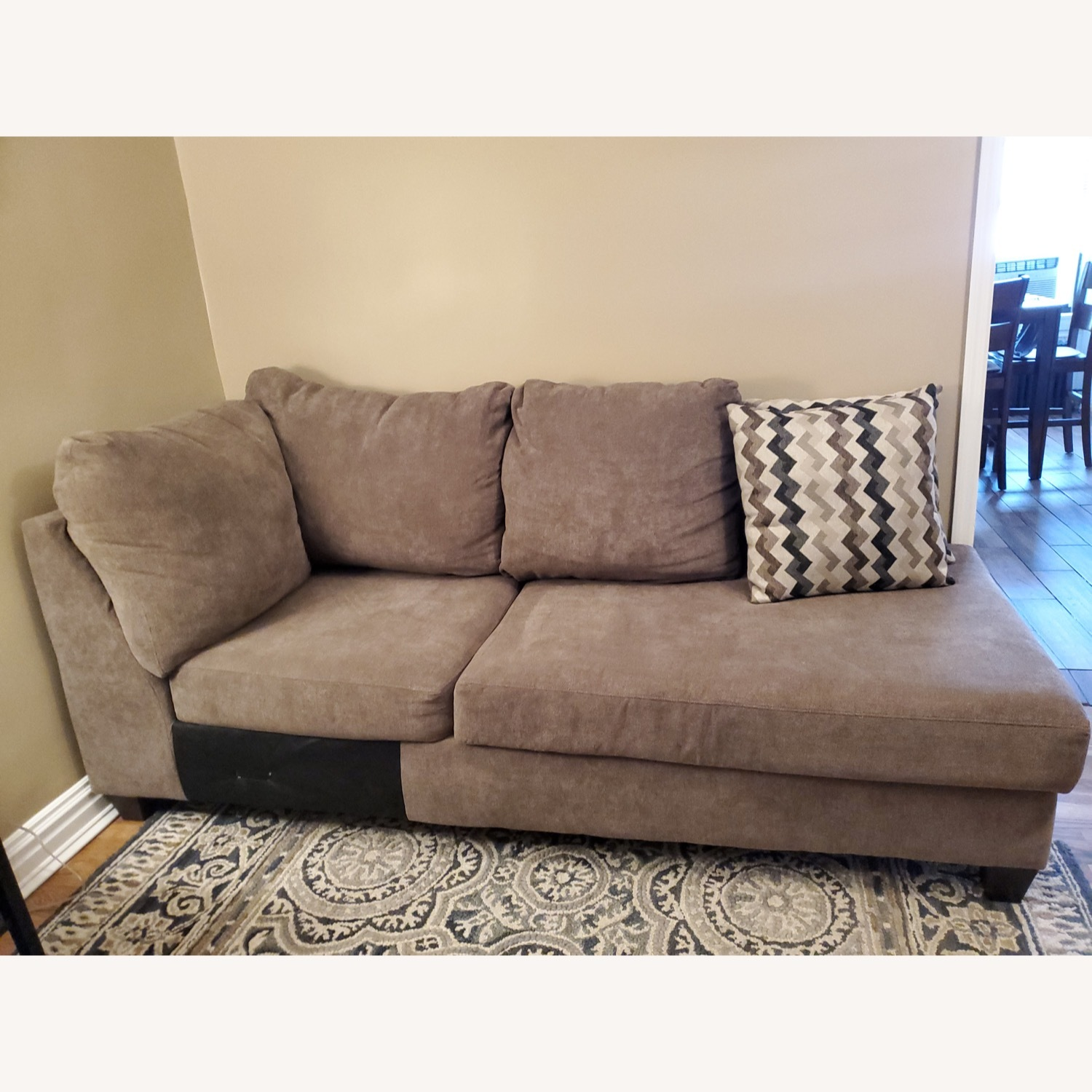 Bob's Discount 2 Piece Sectional - image-4