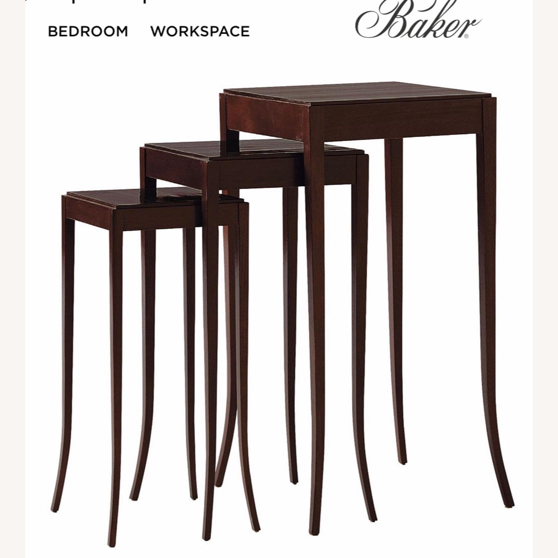 Baker Mahogany Nesting Tables- Barbara Barry - image-6
