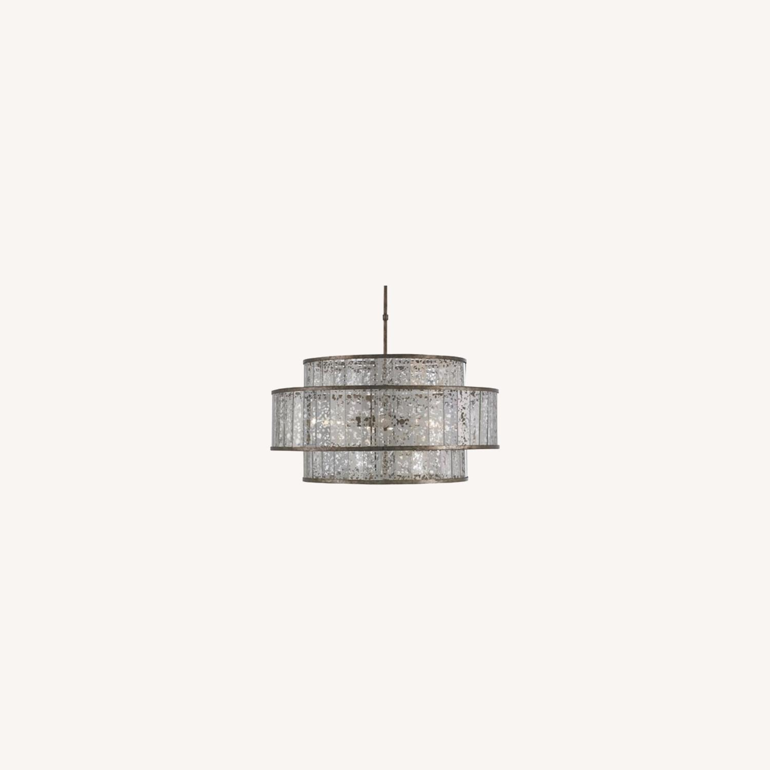 Currey and Company Large Chandelier - image-0