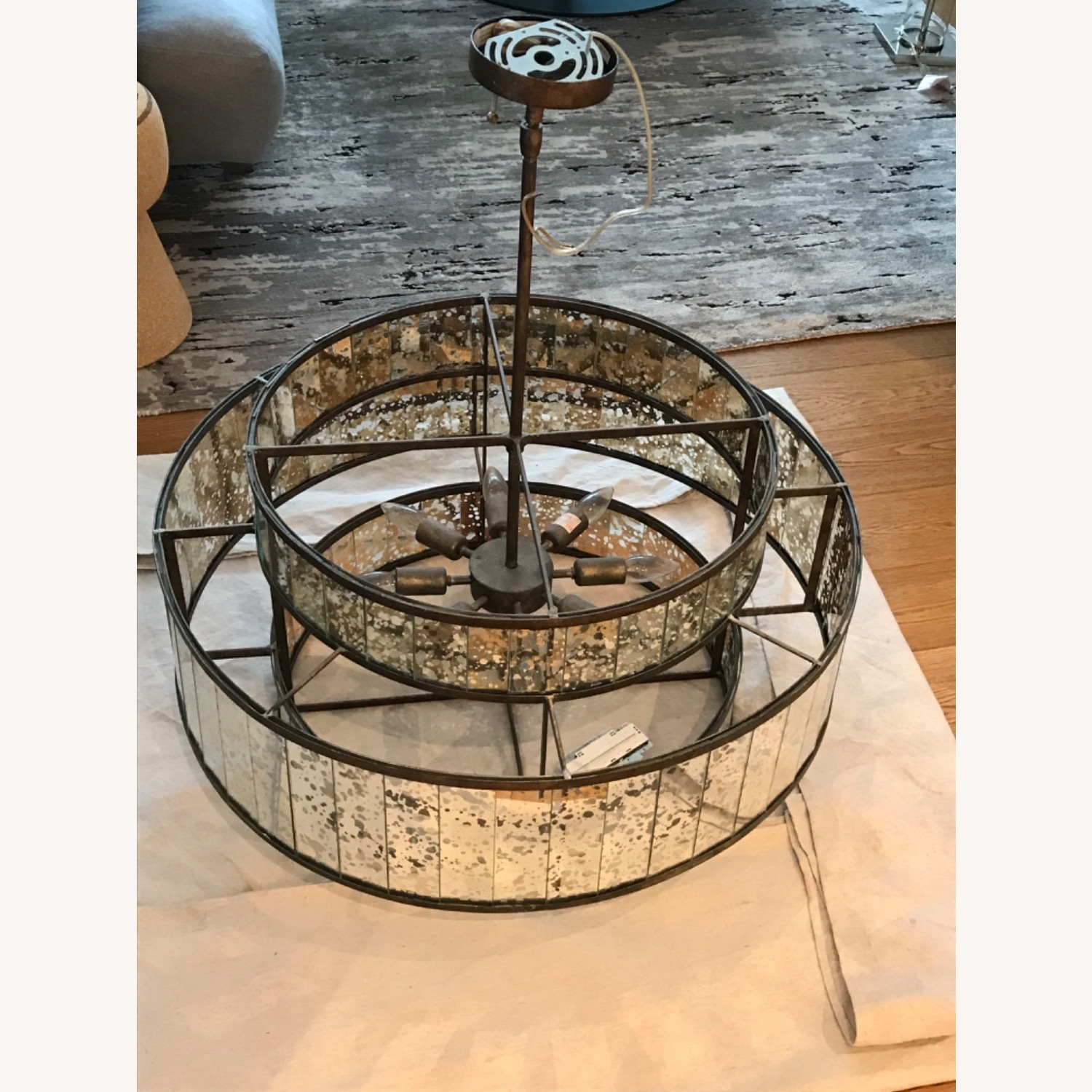 Currey and Company Large Chandelier - image-2
