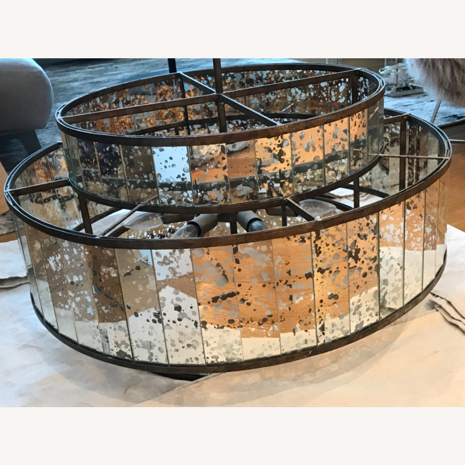 Currey and Company Large Chandelier - image-3