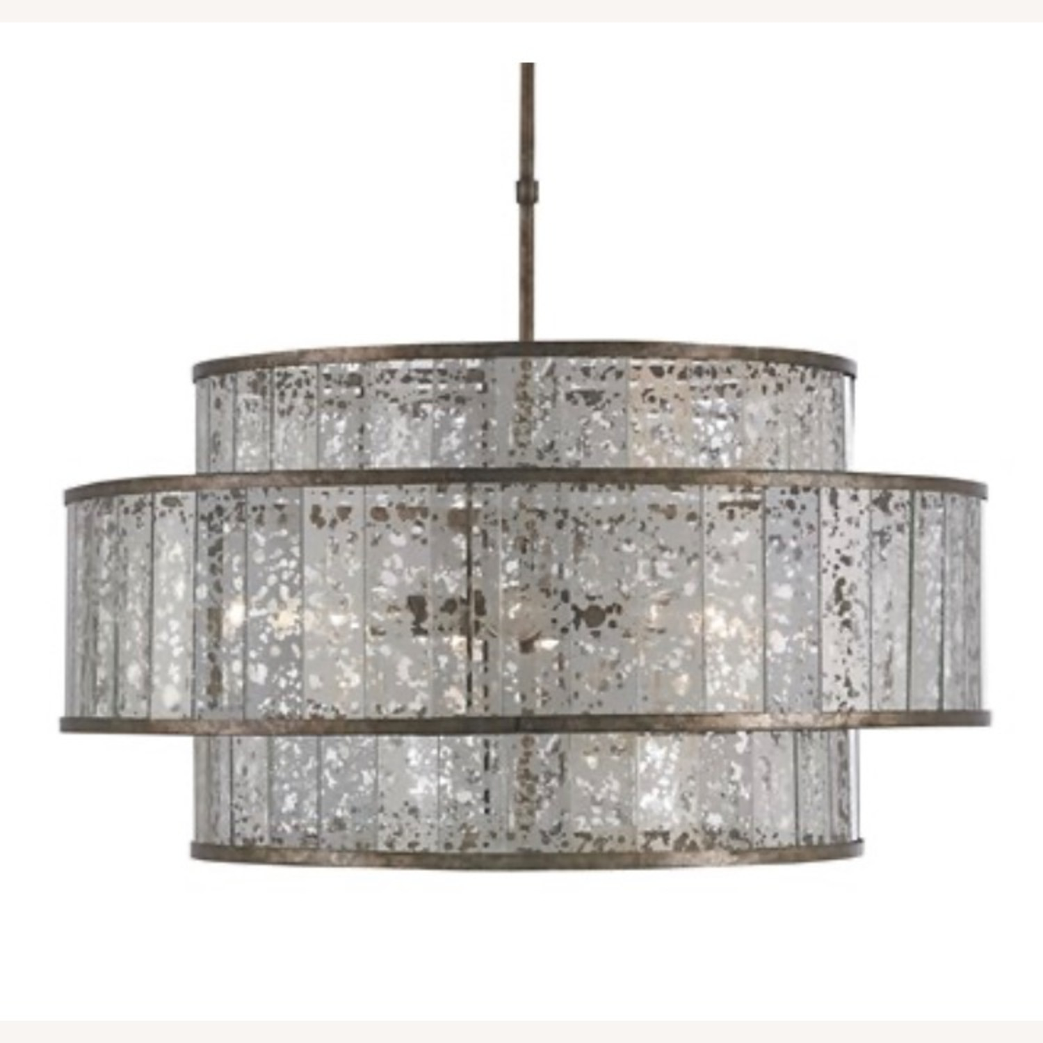 Currey and Company Large Chandelier - image-1
