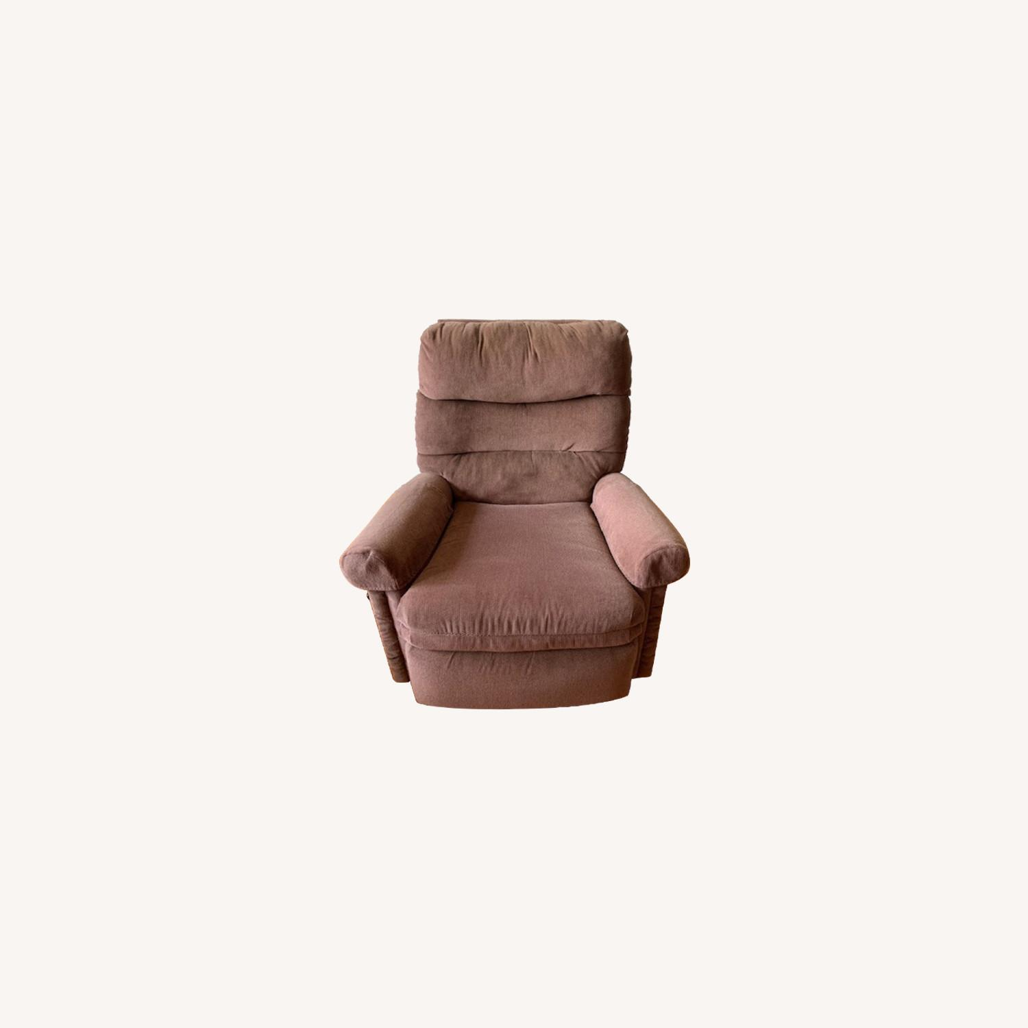 Fabric Armchair Recliner - image-0