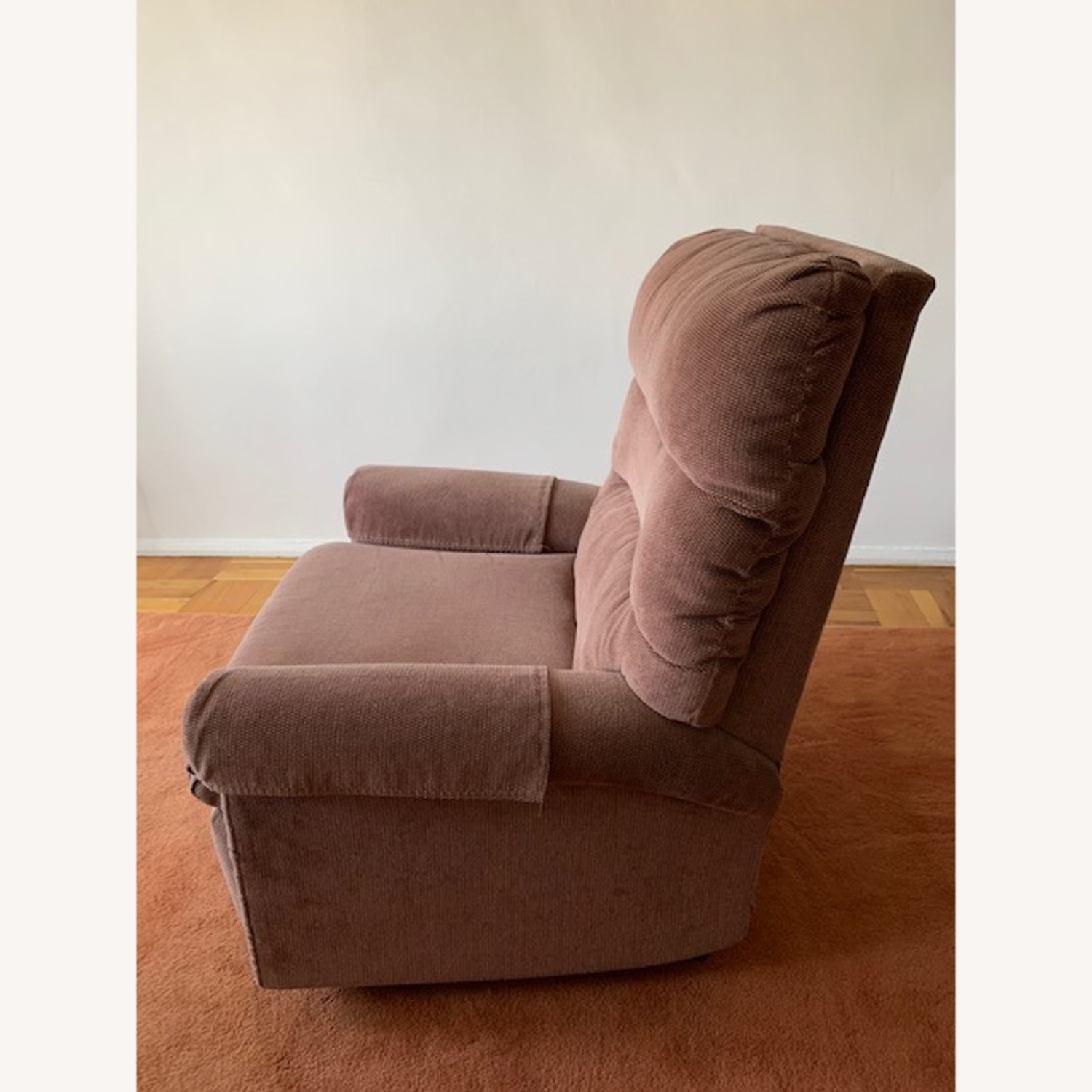 Fabric Armchair Recliner - image-6