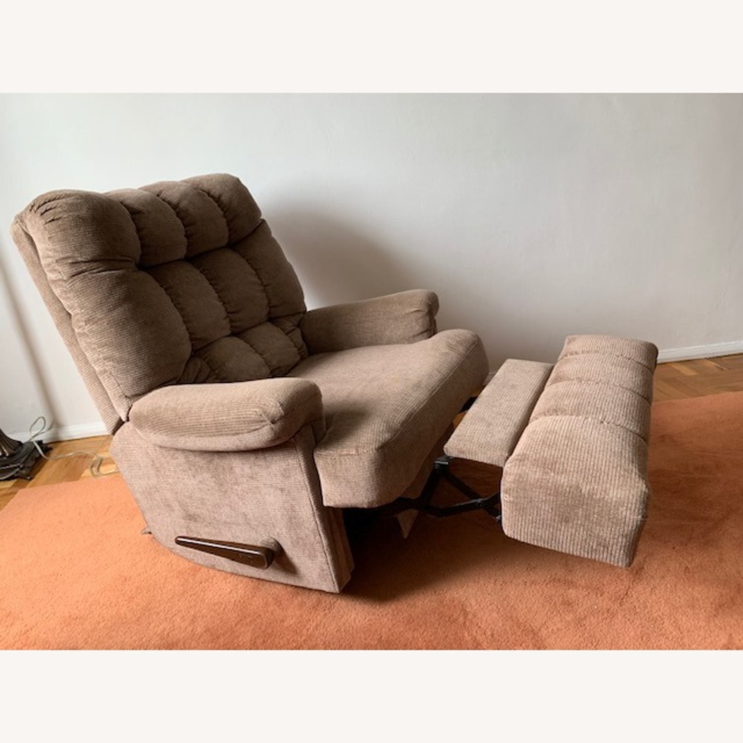 Fabric Armchair Recliner - image-23