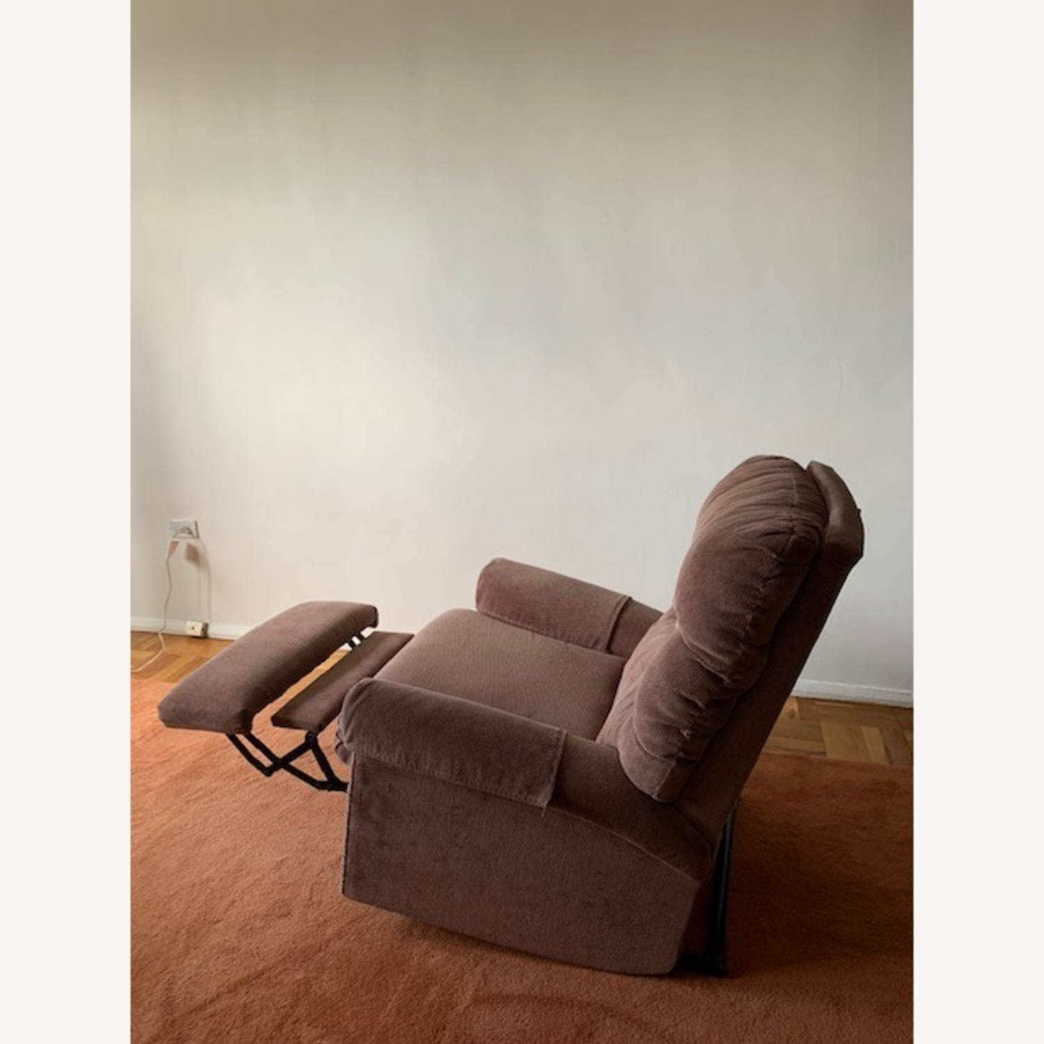 Fabric Armchair Recliner - image-11